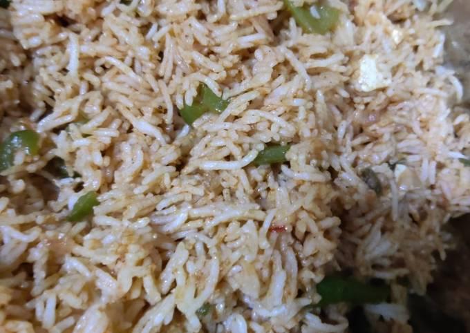 Desi fried rice