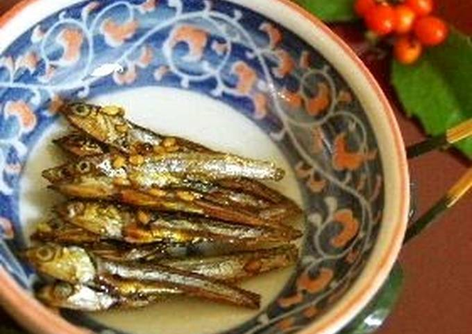 Crunchy Candied Dried Young Anchovies