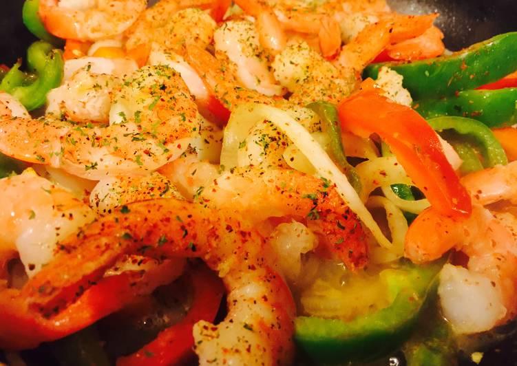 How to Make Any-night-of-the-week Shrimp Fajitas