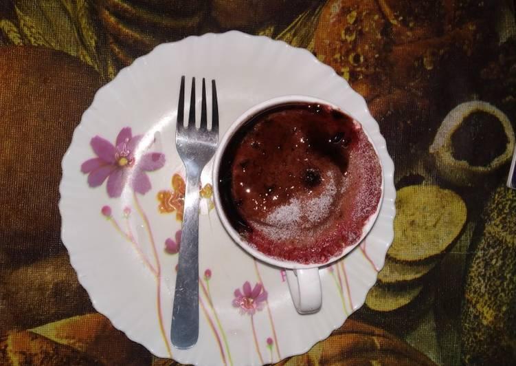 Steps to Make Any-night-of-the-week Mug cake