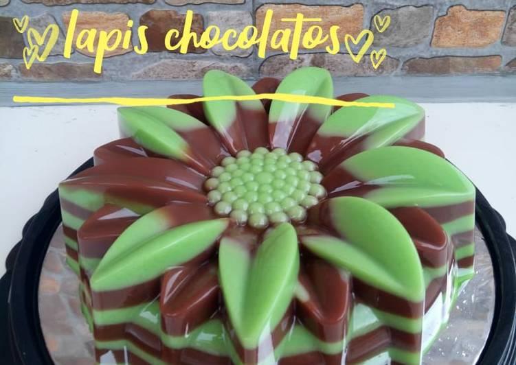 Puding Lapis Chocolatos