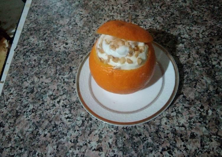 Orange aux crèmes