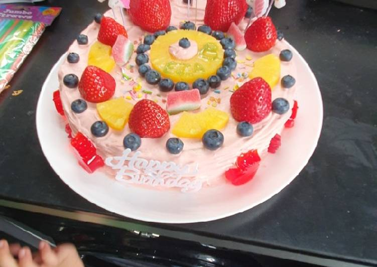 Easiest Way to Prepare Perfect Birthday cake