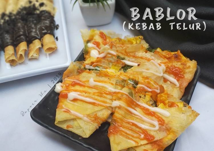 Bablor (Kebab Telor)