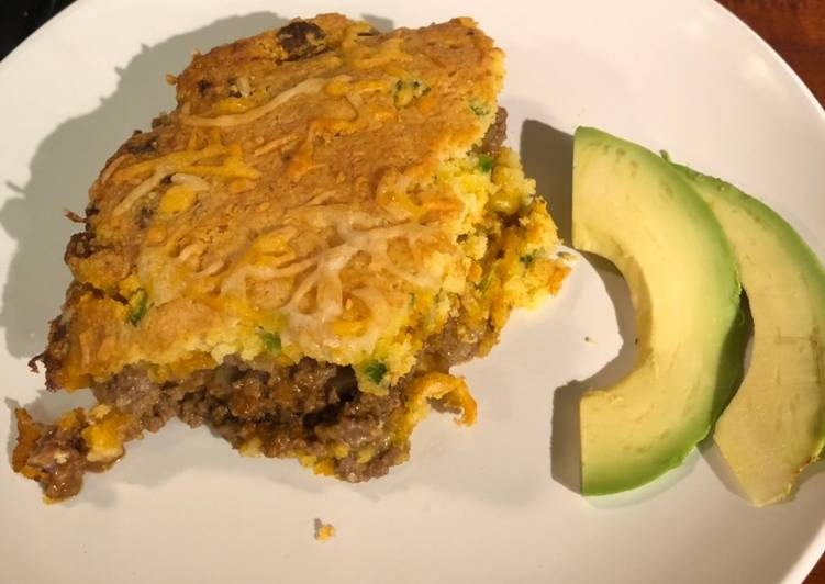 3 pepper Tamale Pie – Tasty Cookbooks