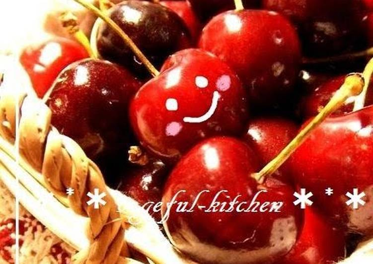 Recipe of Super Quick Homemade How To Pit Sweet Cherries