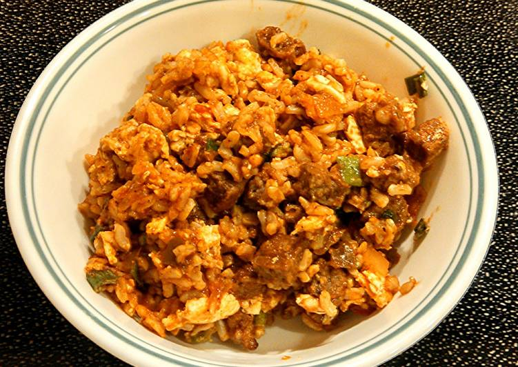 Recipe of Quick Fried Rice (Breakfast Style)