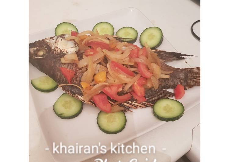 Simple Way to Prepare Favorite Grilled tilapia