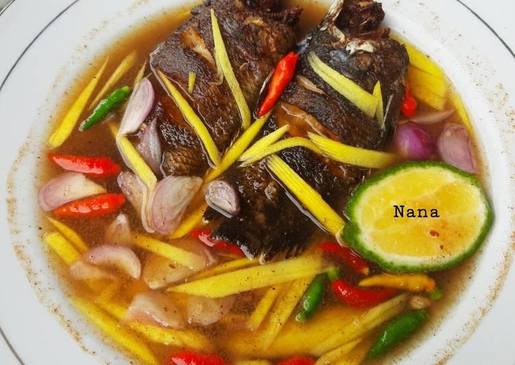 Cacapan Mangga Papuyu Bakar/ Goreng Khas Banjar