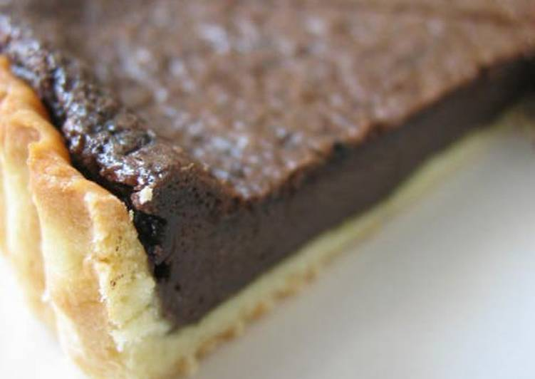 Butter-free Chocolate Tart