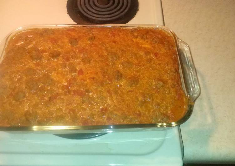 30 Minute Step-by-Step Guide to Make Blends 4 Layer Loaded Enchilada Casserole