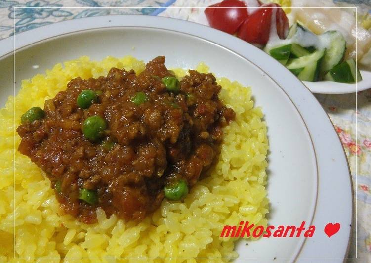 Authentic ♔ Keema Curry