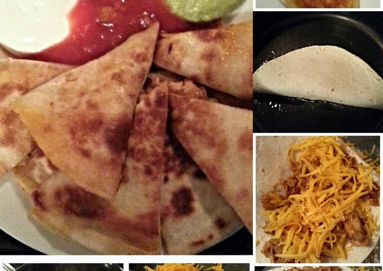 Step-by-Step Guide to Make Favorite Tinklee's Chicken Quesadillas