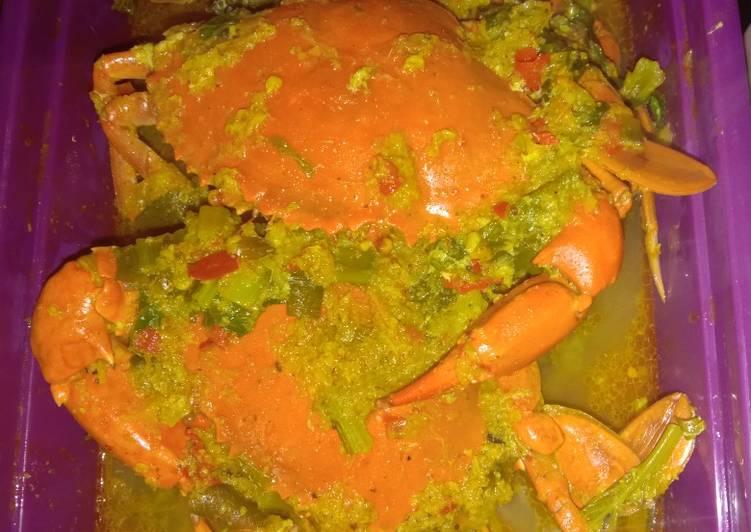 Kepiting Kuah Kuning