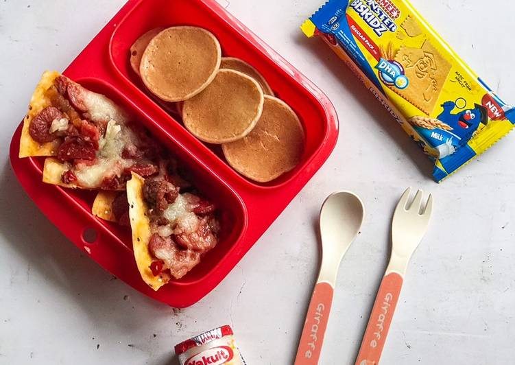 Resepi:  Wrap/Roti Pizza Hotdog & Beef  Terbaru