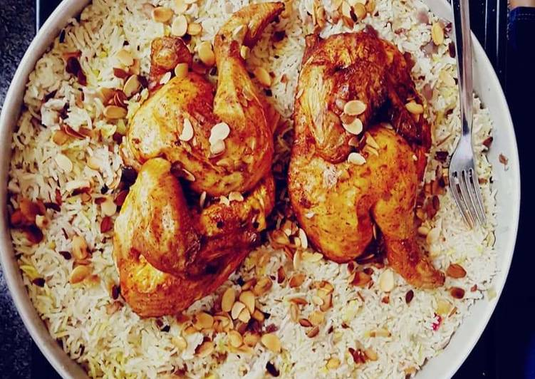 How to Prepare Favorite Saudi chicken mandi