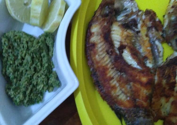 Ikan Panggang Sambel Bledek