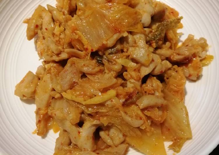 Recipe: Perfect Kimchi Chicken