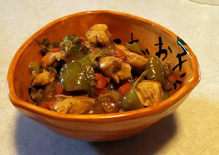 Honey-Glazes Chicken Stir Fry
