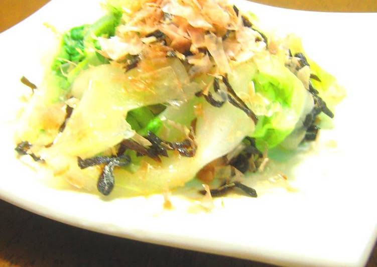 5-Minute Lightly Pickled Chinese Cabbage