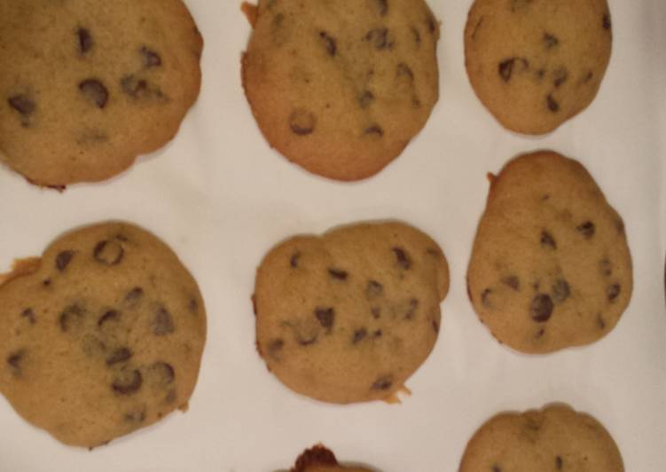 Recipe: Yummy Soft and Chewy Chocolate Chip Cookies