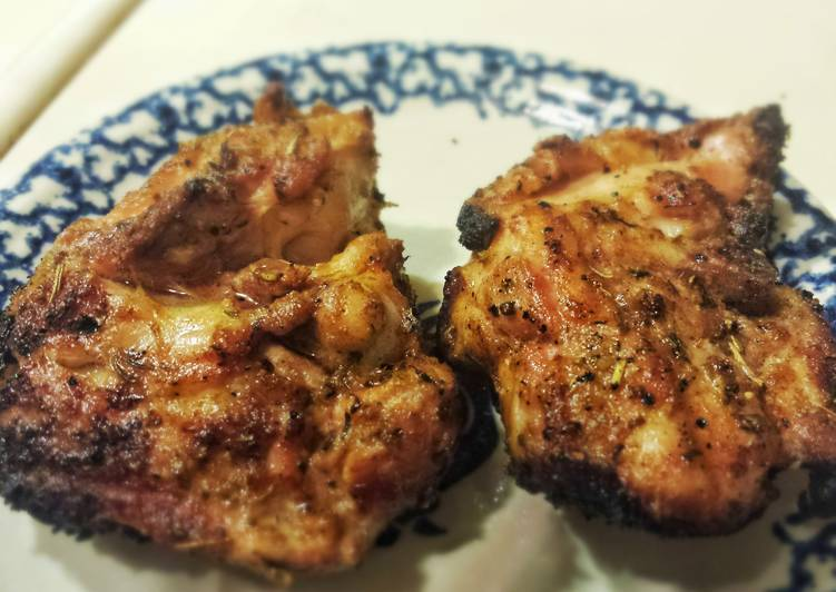 Grilled Chicken in Olive Oil Marinade