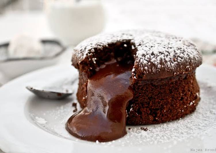 Delicious Chocolate Lava Cake