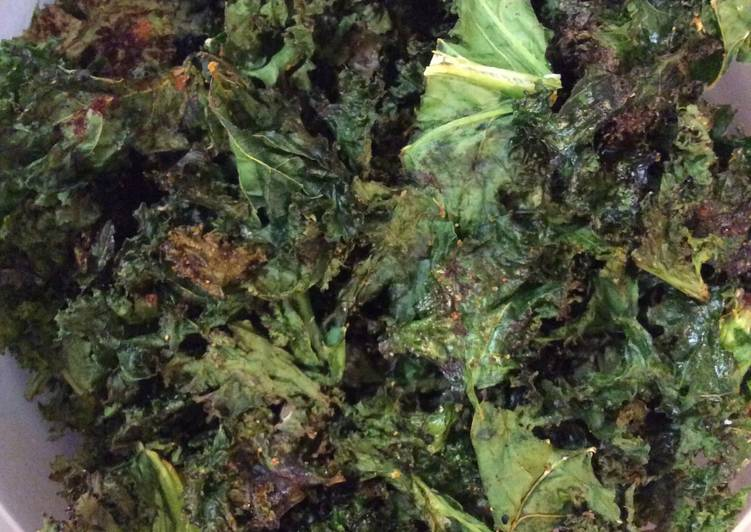Quick and Easy Way to Cook Tasty Kale Chips