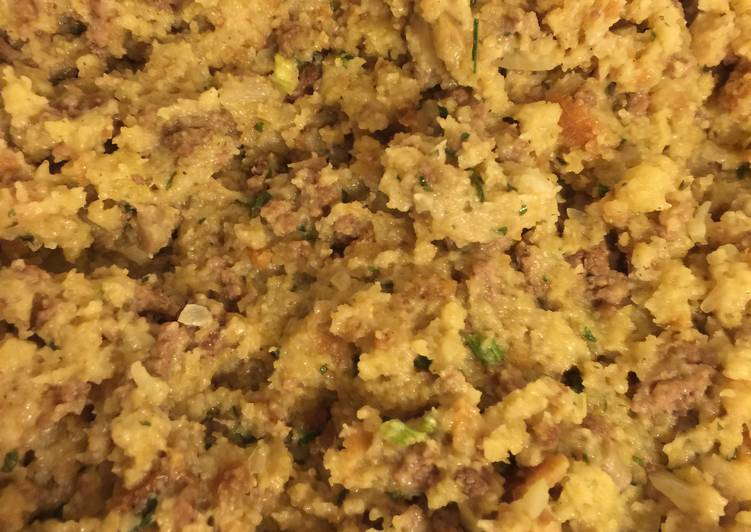 Easy & Delicious Turkey Stuffing