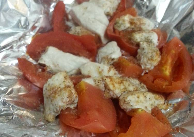 How to Make Tasty HCG Diet meal 12: Tomatoes and Chicken