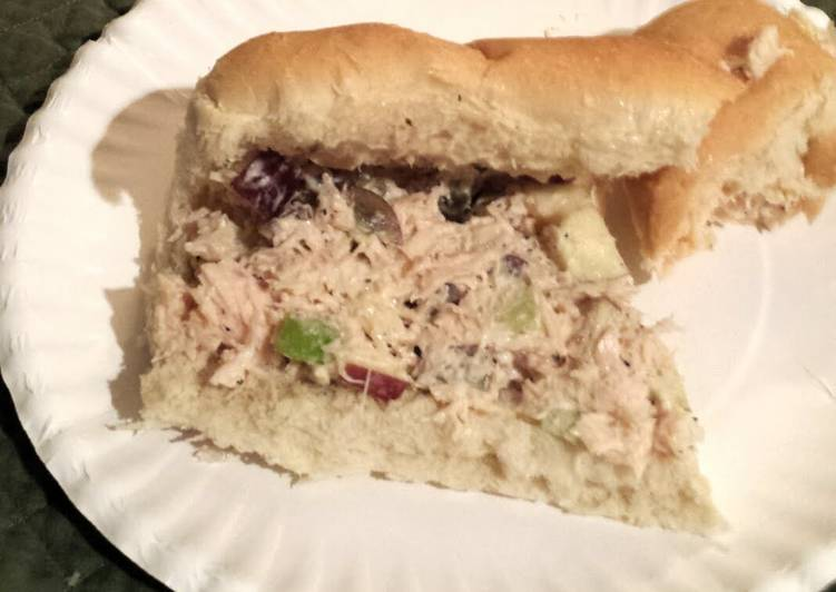 Steps to Prepare Homemade Simple Chicken Salad