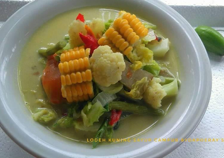 Lodeh Kuning Sayur Campur