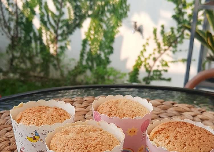 Chiffon Banana Cake snack mpasi