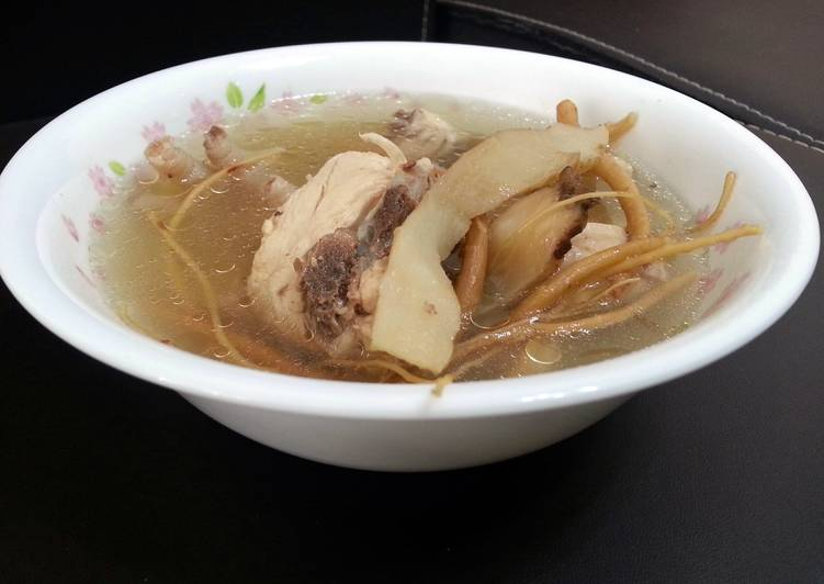 Lg chicken soup with 2 herbs