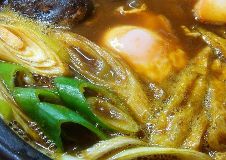 5 Minute Step-by-Step Guide to Prepare Cooking Stewed Curry Udon Noodles