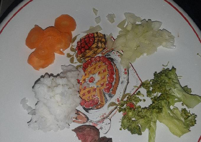 Mpasi simple : daging sapi brokoli - projectfootsteps.org
