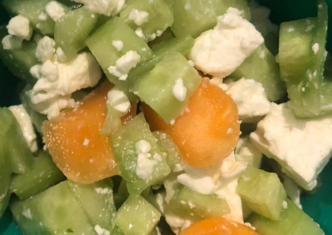 Salade estivale peu calorique et légère pour vos dîners