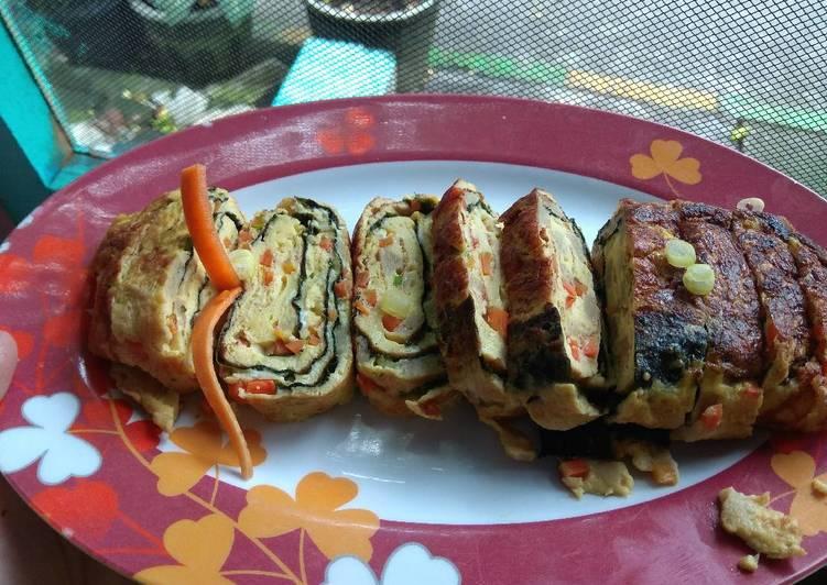 Telur Gulung / Rolled Omelette / Gyeran Mari(계란말이)