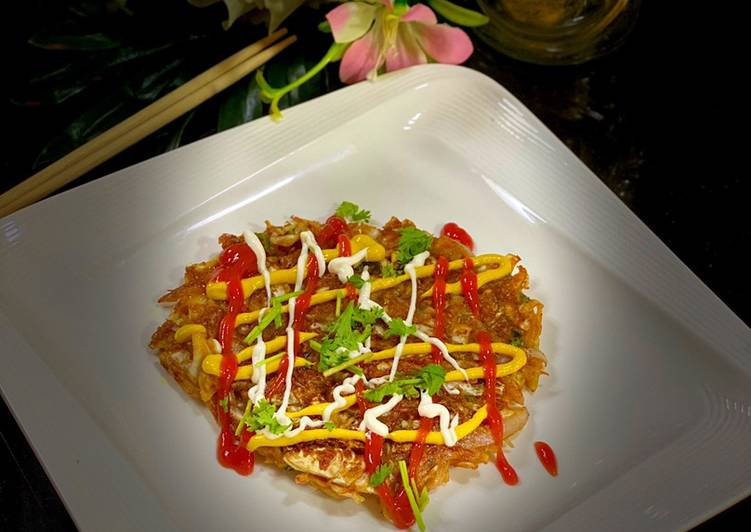 Spicy Cabbage Pancakes