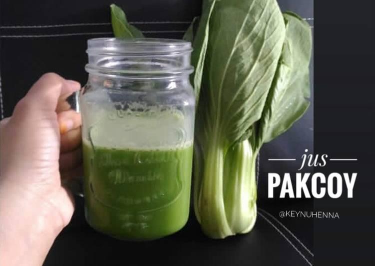 Jus pakcoy, alternative anak susah makan sayur