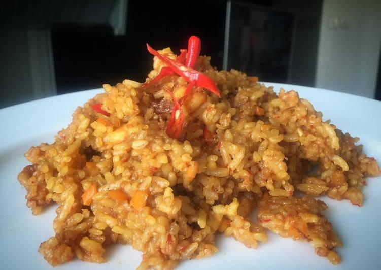 Resep Nasi goreng seafood oregano Paling Joss