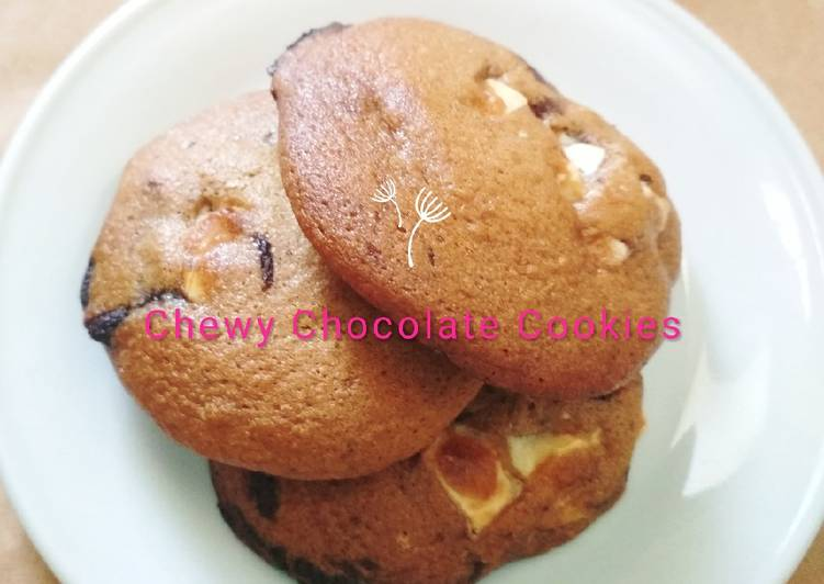Chewy Chocolate Cookies (Tasty)