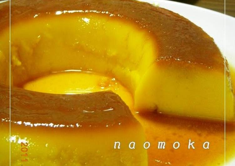 5 Minute Step-by-Step Guide to Make Award Winning Super Easy Kabocha Squash Pudding Cake