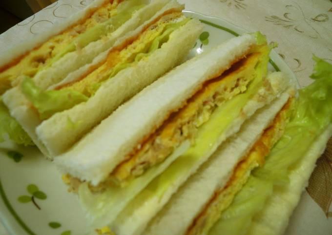 Hearty Tuna and Egg Sandwich
