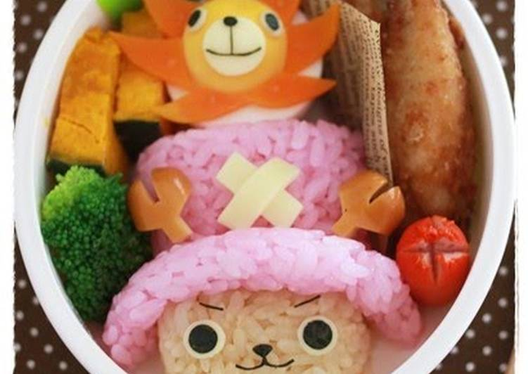 Try Using Food to Boost Your Mood Character Bento, Chopper from One Piece