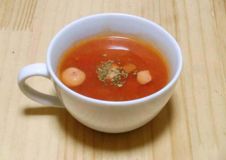 Step-by-Step Guide to Prepare Speedy Super Nutritious - My Tomato Soup