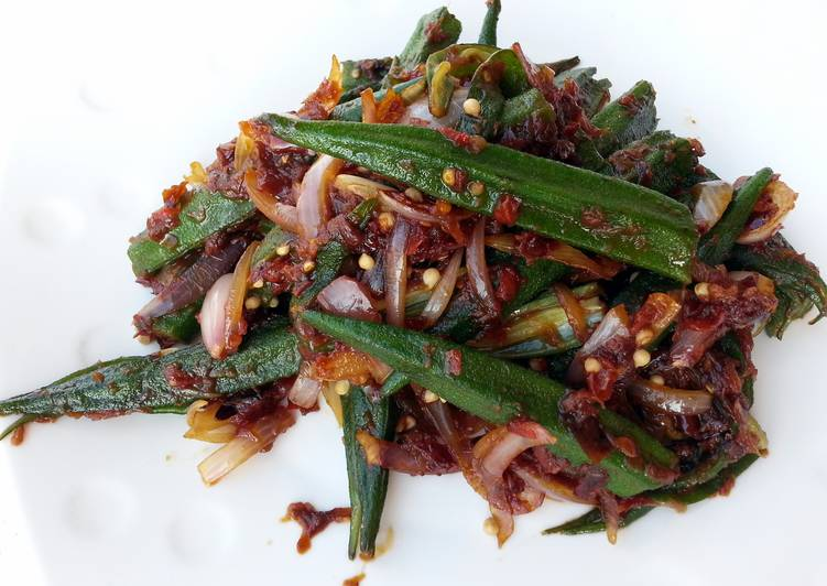 Spicy Okra /Sambal Okra