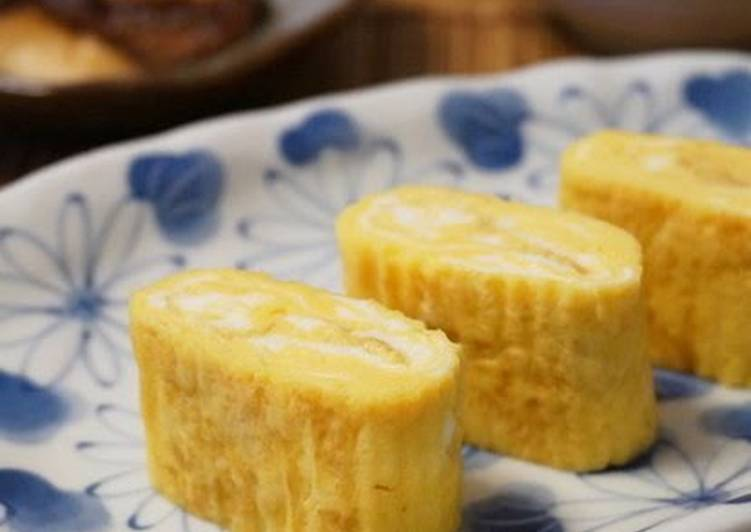 Recipe of Perfect Sweet & Thick Tamagoyaki (Rolled Omelette)