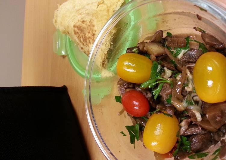 Eggplant mushroom caponata