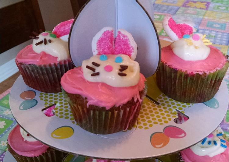 How to Make Favorite Bunny Cupcake Toppers